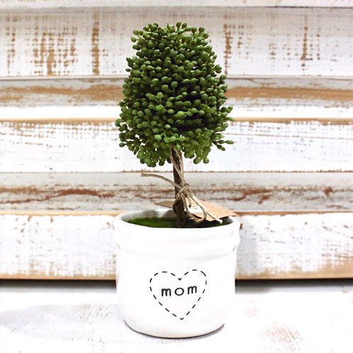 Mom Boxwood Topiary
