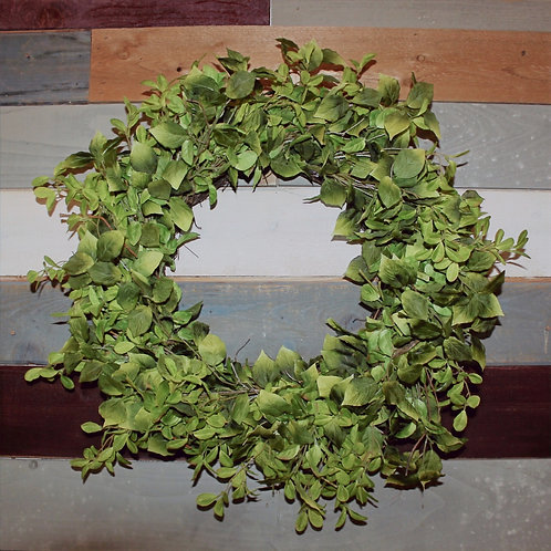 Mixed Foliage Wreath 30""