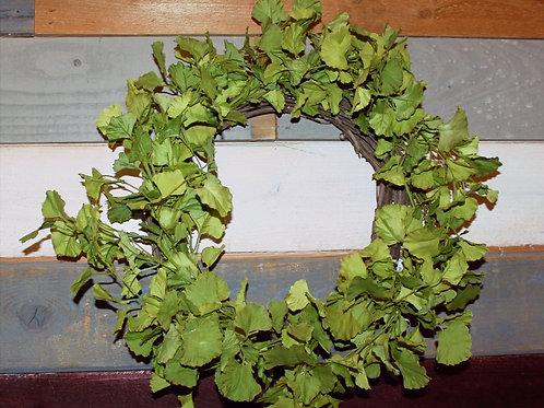 """20"""" Ginkgo Foliage Wreath"""