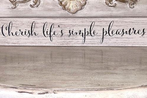 Cherish Life's Simple Pleasures