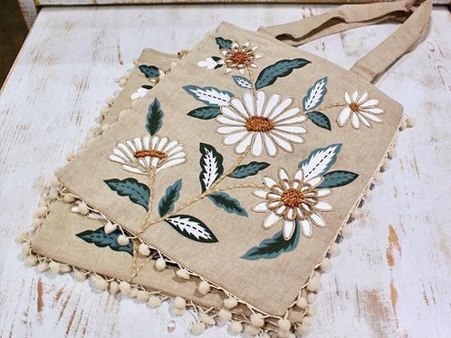 Daisy Tote Bag 15X13