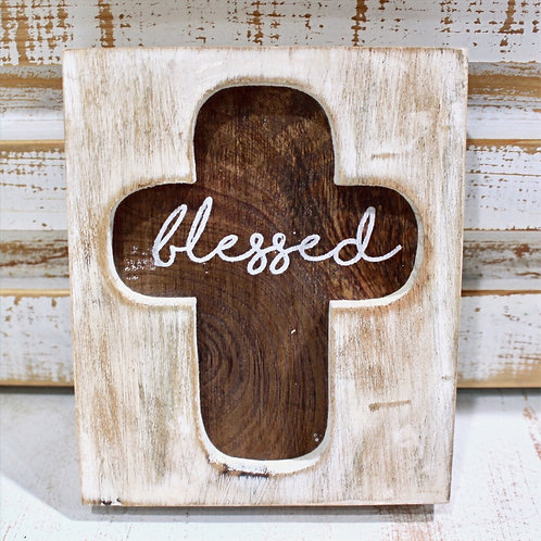 Blessed Cross Plaque