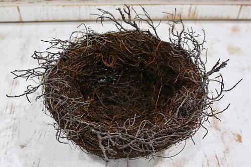 Brown Twig Bird Nest Medium