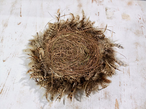 Feather Twig Bird Nest Large