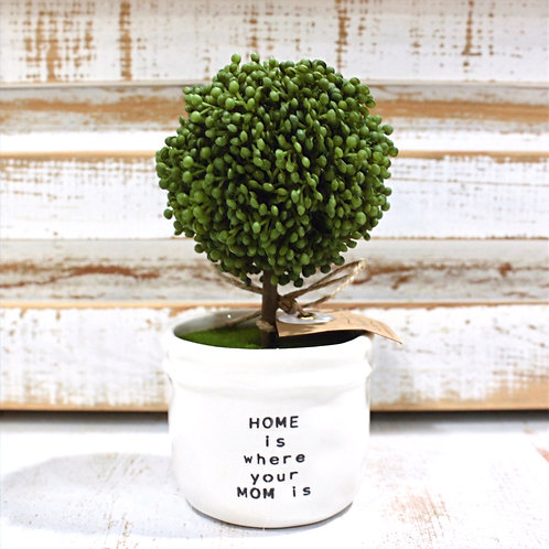 Home Is Where your Mom Is Topiary
