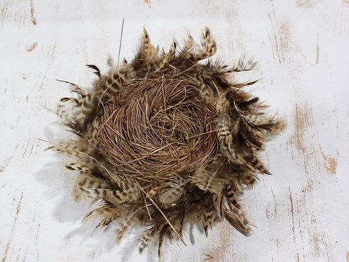 Feather Twig Bird Nest Medium