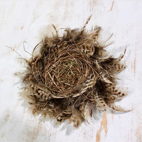 Feather Twig Bird Nest Small