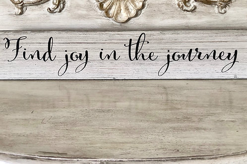 Find Joy In The Journey Tabletop