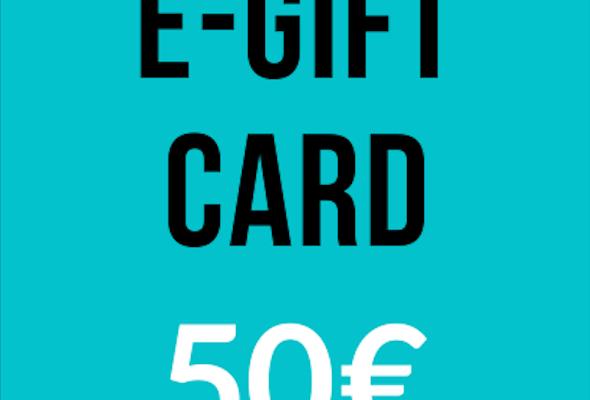 E-Gift Card - 50€