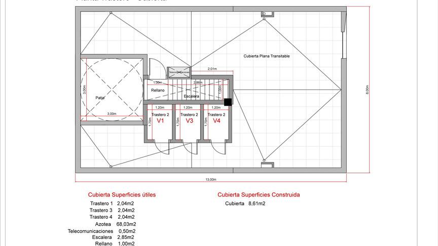 Proyecto 4 pisos El Cotillo