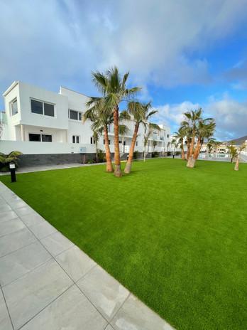 Espaces de jardin en appart-hôtel