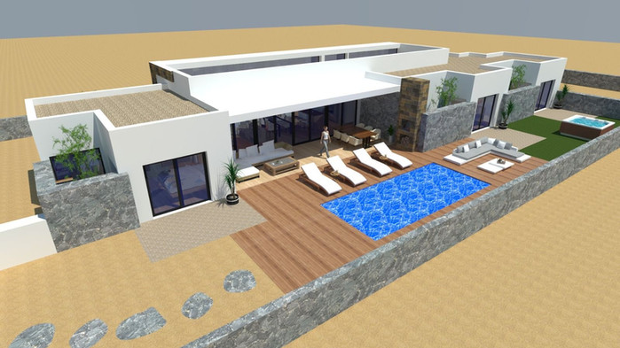 House plans in lajares