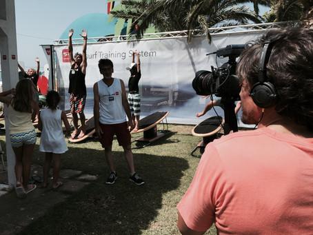 Presentación Drysurf en Tarifa (Campeonato del Mundo de Kitesurf)