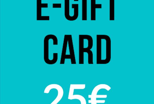 E-Gift Card - 25€