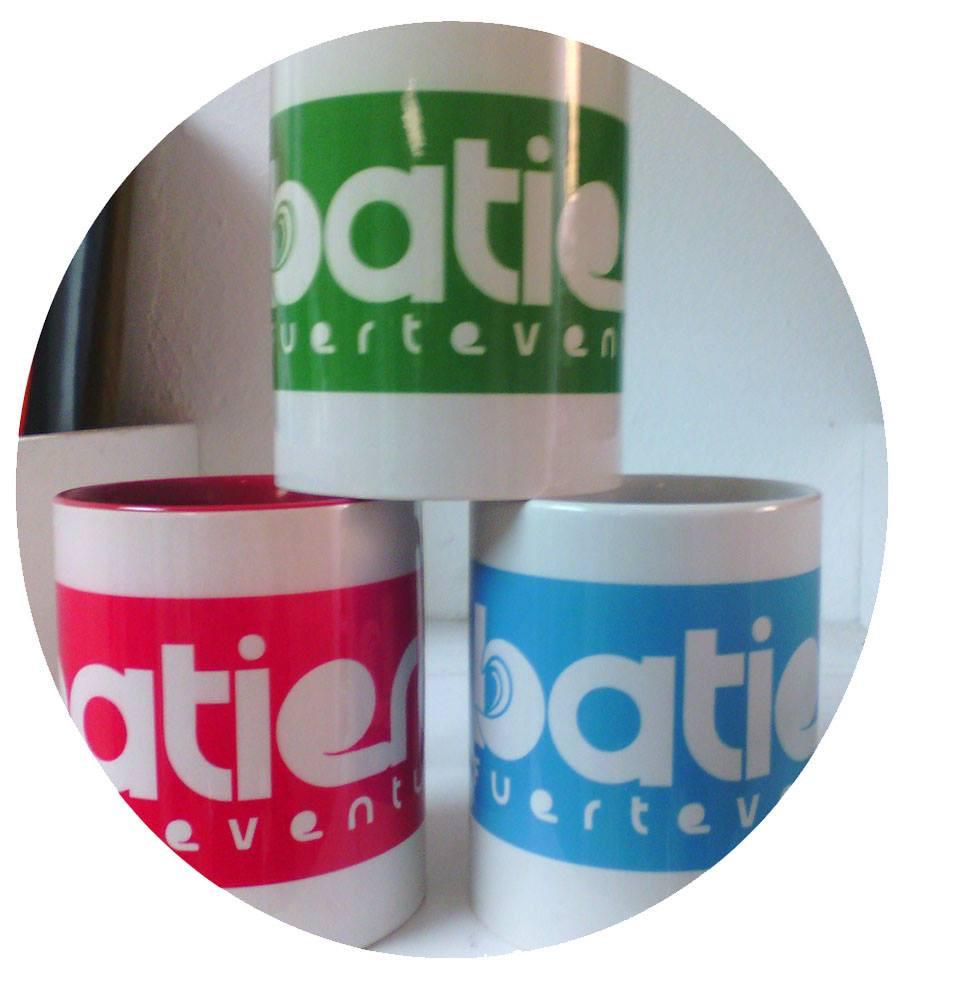 Tazas personalizadas con la marca Batiero