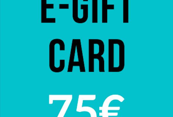 E-Gift Card - 75€