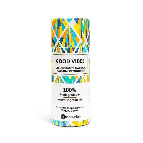 Naturlabs Natural Deodorant - Good Vibes