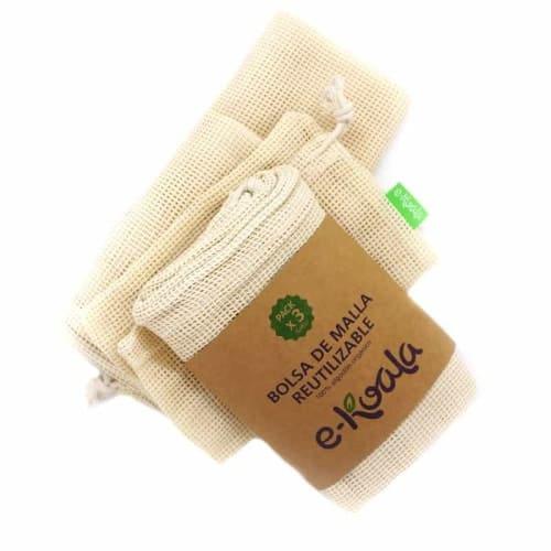 E-Koala Cotton Mesh Product Bags