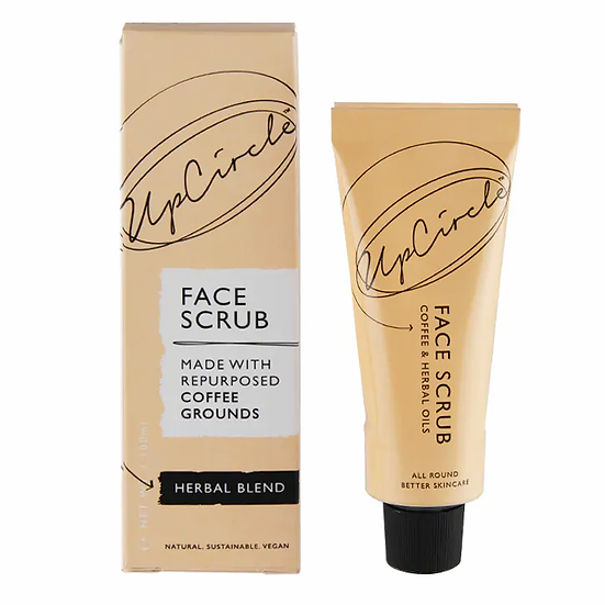 UpCircle Coffee Face Scrub- Herbal Blend for Oily/Combination Skin