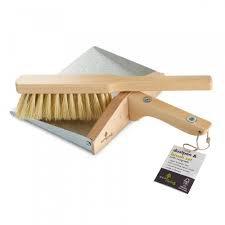Eco Living Dustpan & Brush set