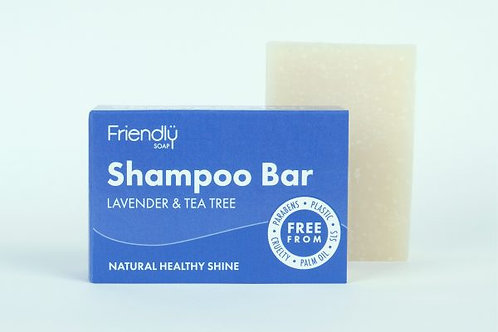 Friendly Soap - Shampoo Bar Lavender & Tea Tree