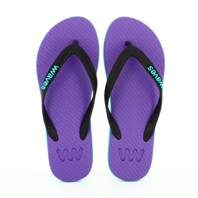 Womens Waves Flip Flops