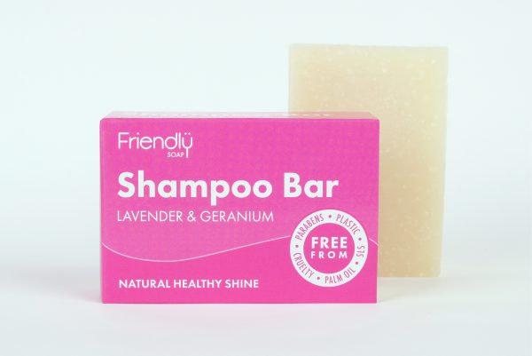 Friendly Soap - Shampoo Bar - Lavender & Geranium