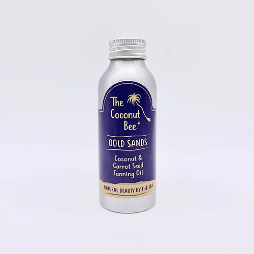 The Coconut Bee Gold Sands Tanning Oil