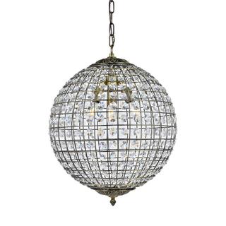 Arlington Globe Pendant -Medium