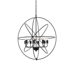Round Wrought Iron Pendant - Large