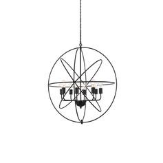 Round Wrought Iron Pendant - Small