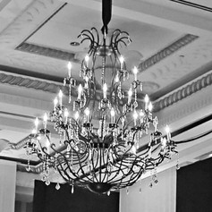 Wrought Iron Chandelier - Extra Large