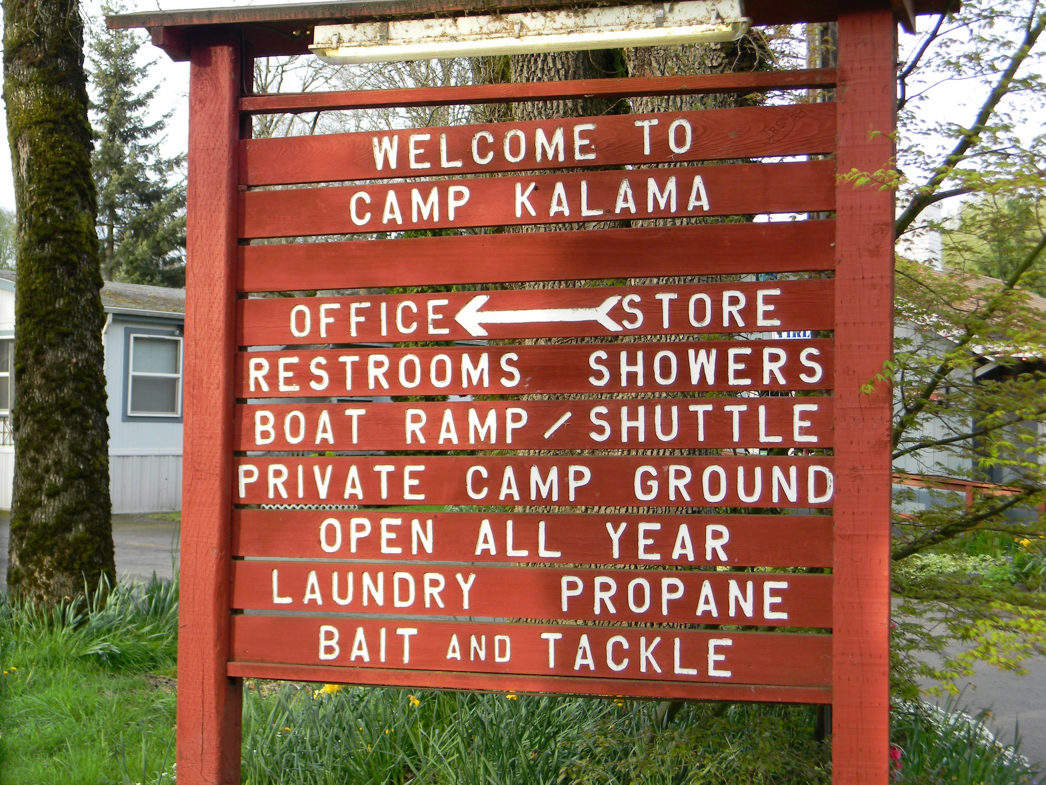 Camp Ground Sign