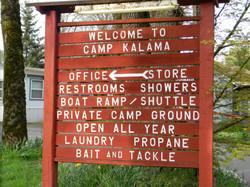 Camp Ground Sign