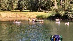 Camp Ground Beach Floating