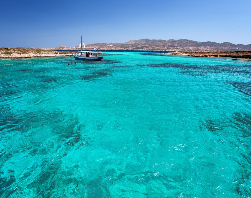 Antiparos Crystal Waters
