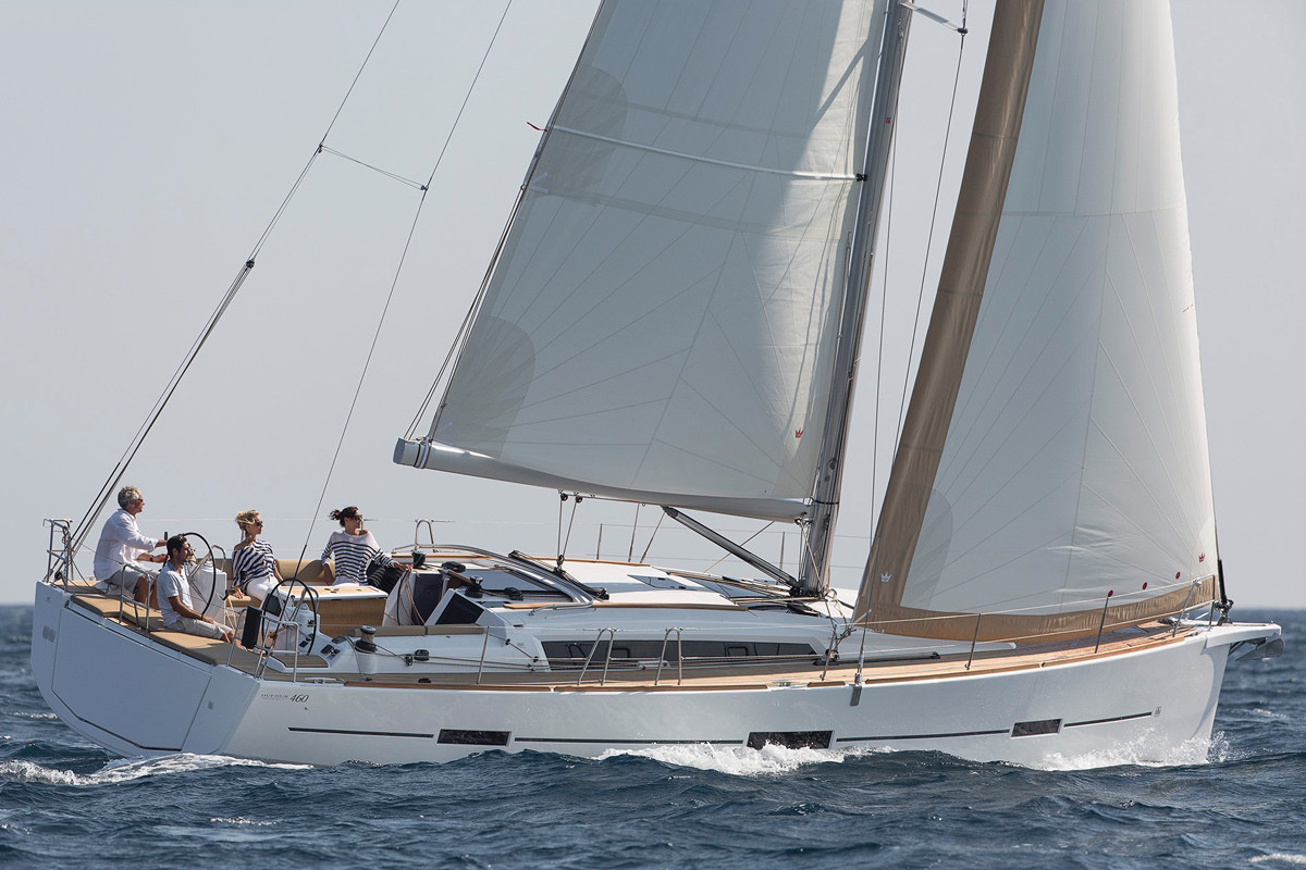 Dufour_460_Grand_Large_sailing