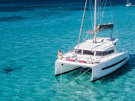 Catamaran sailing holidays in Greece
