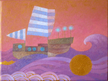 Sunrise Voyage (SOLD)
