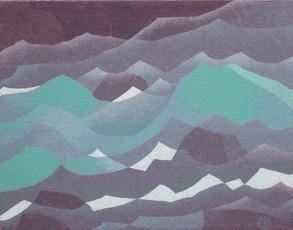 Glacial River II (private collection)