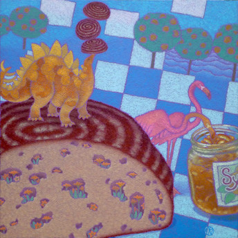 Before the trees were bread and cheese (SOLD)