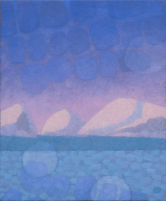 Setting Moon Reflected (SOLD)