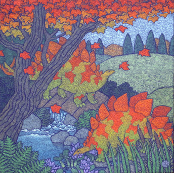 Fall Of The Dinosaurs (SOLD)