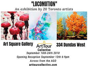 Locomotion, Art Tour collective group show 2018