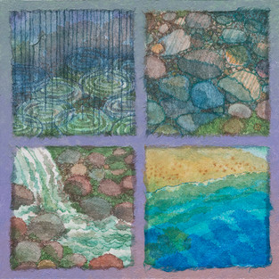 Water, A Quartet (SOLD)