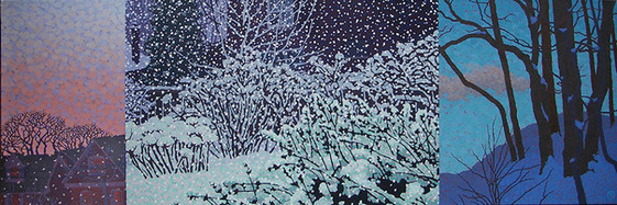 It snowed all day (SOLD)