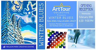 2019WinterBlues Art Exhibit
