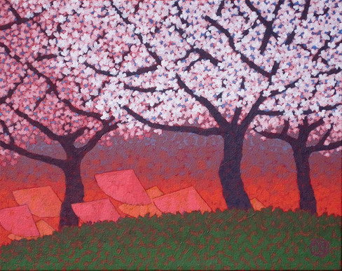 High Park: Sunset Of The Cherry Blossoms Viewing (SOLD)