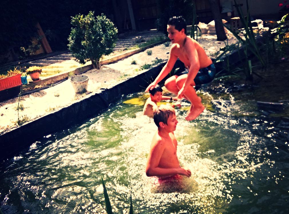 Chapuzones de verano