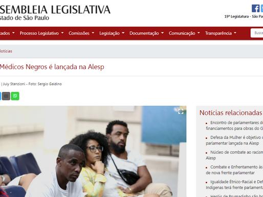 Associação de Médicos Negros é lançada na Alesp
